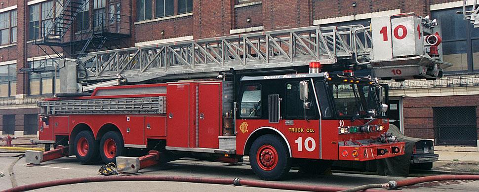 Chicago Hurricane Tower Ladder 10