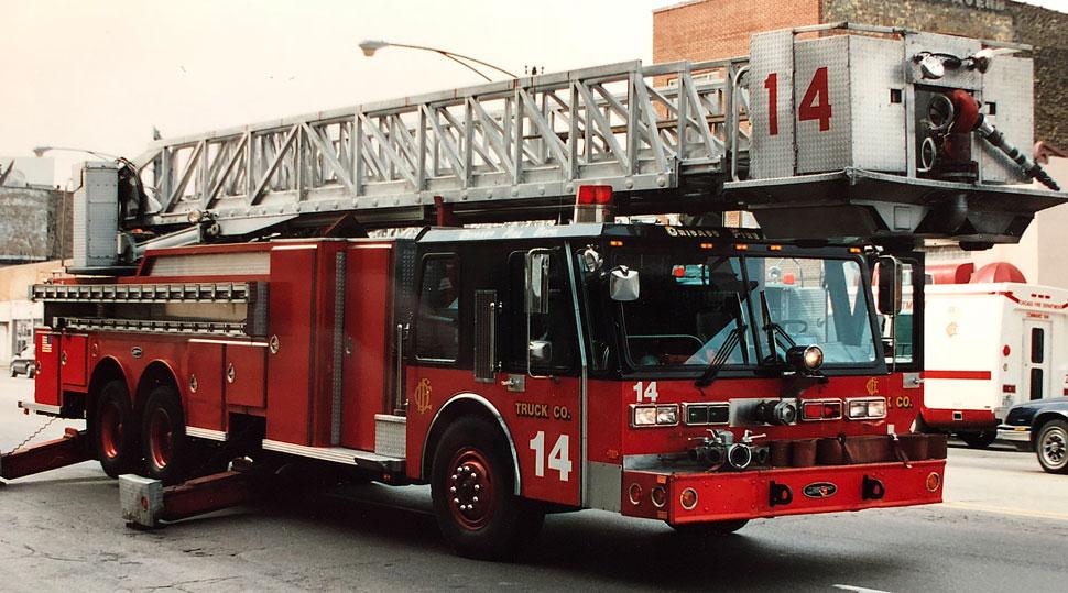 Chicago Hurricane Tower Ladder 14