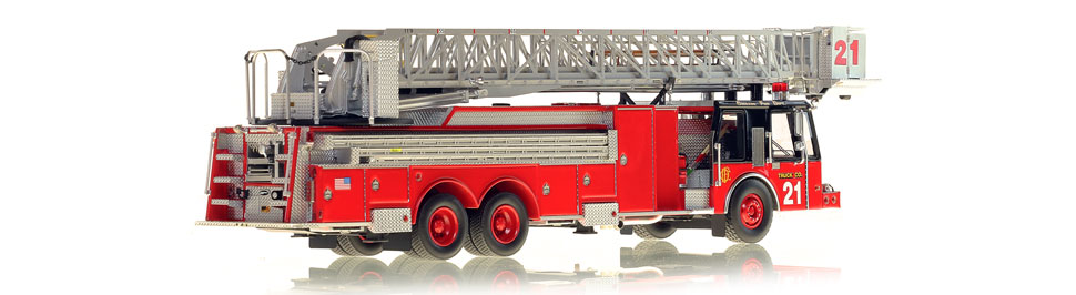 Truck 21 is hand-crafted using over 750 parts.