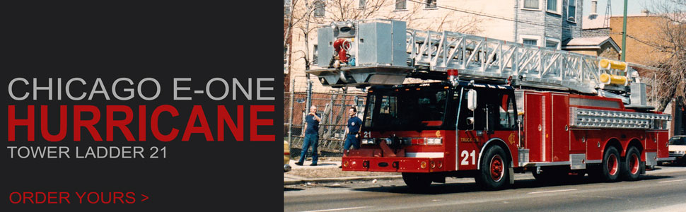 Order your 1985 Chicago E-One Hurricane Truck 21 today!