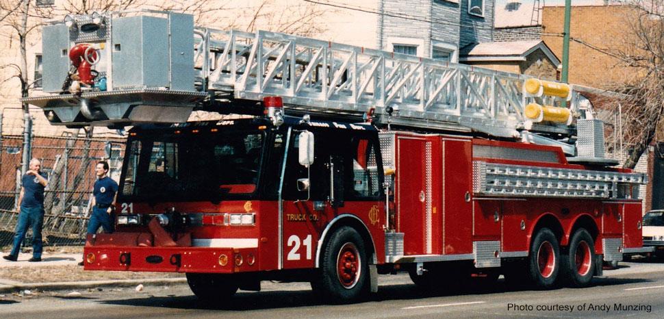 Chicago Hurricane Tower Ladder 21