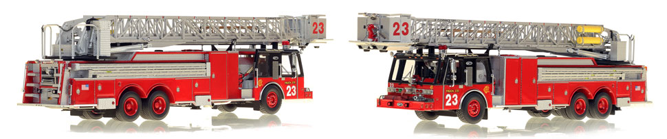 Take home your very own Chicago Truck Co. 23 scale model