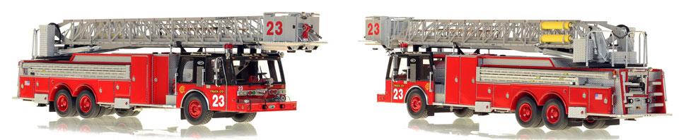 Chicago Truck Company 23 is a museum grade replica