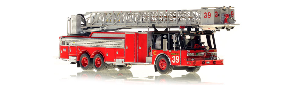The first museum grade Chicago E-One Tower Ladder 39