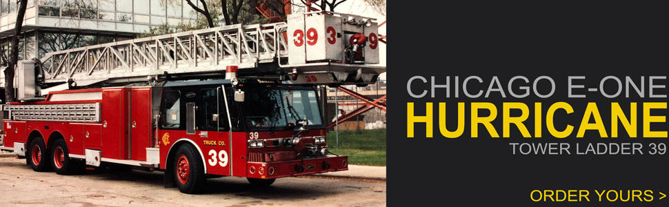 Order your 1985 Chicago E-One Hurricane Truck 39 today!