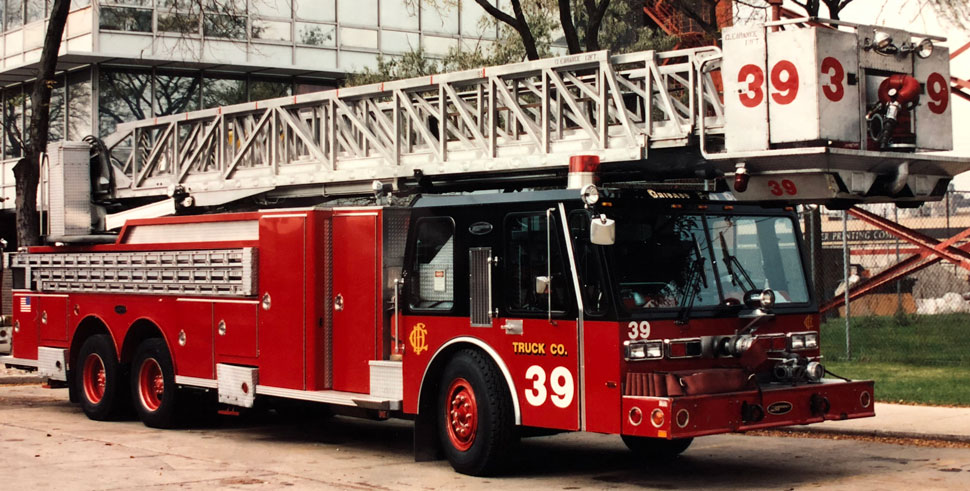 Chicago Hurricane Tower Ladder 39