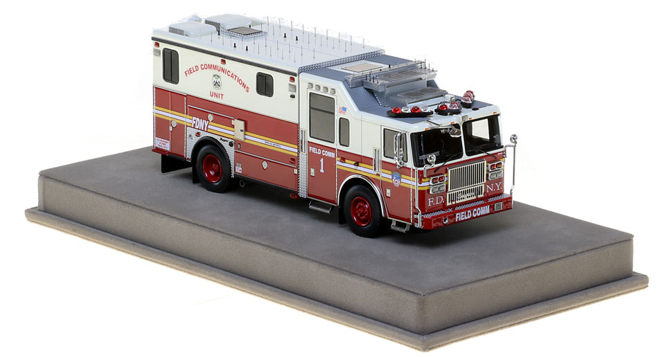Order your FDNY Field Communications 1 scale model today!