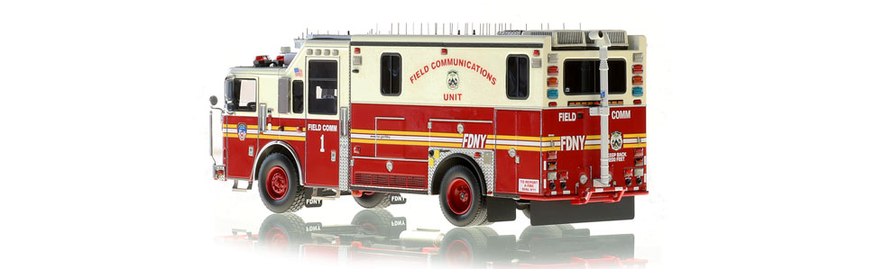FDNY Field Comm 1 scale model is limited to 200 units