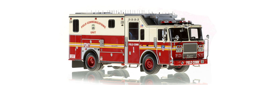FDNY Field Communications 1 features razor sharp detail