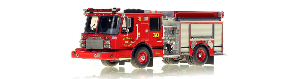 Detroit Engine 30 scale model is museum grade.