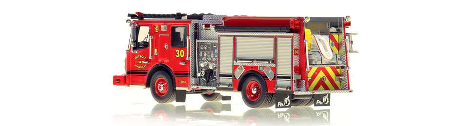 Production of Detroit Engine 30 is limited to 50 units.