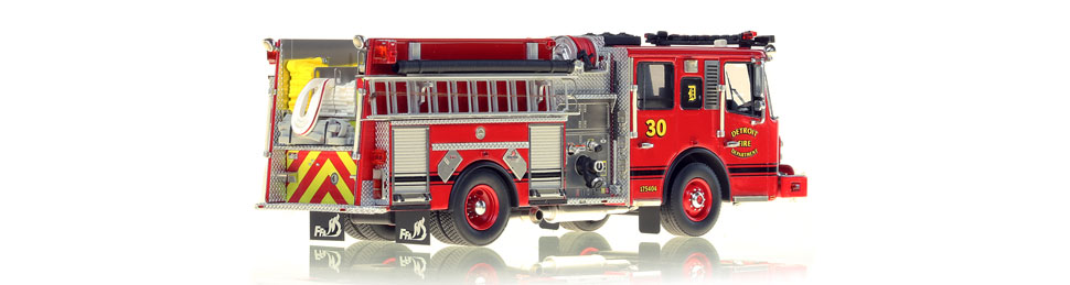 Detroit Engine 30 consists of over 425 hand-crafted parts.