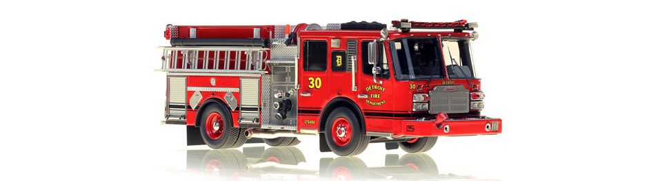 Detroit Engine 30 features hundreds of stainless steel parts.