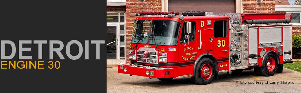 Detroit Fire Department Engine 30