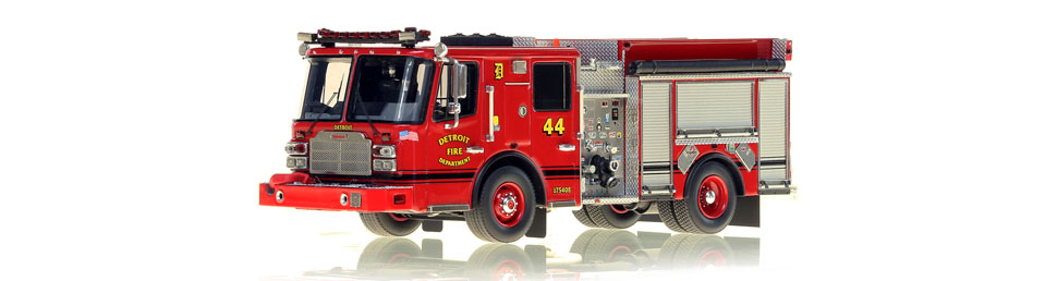 Detroit Engine 44 scale model is museum grade.