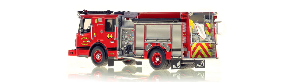 Production of Detroit Engine 44 is limited to 50 units.