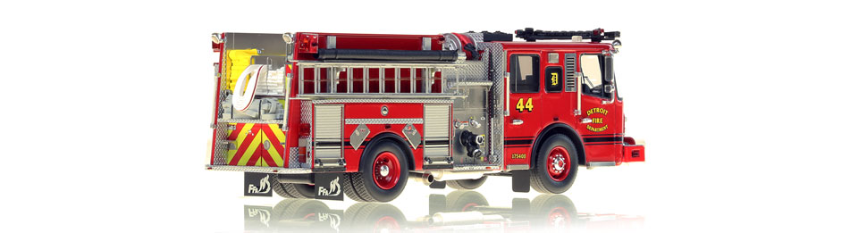 Detroit Engine 44 consists of over 425 hand-crafted parts.