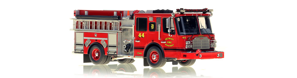 Detroit Engine 44 features hundreds of stainless steel parts.