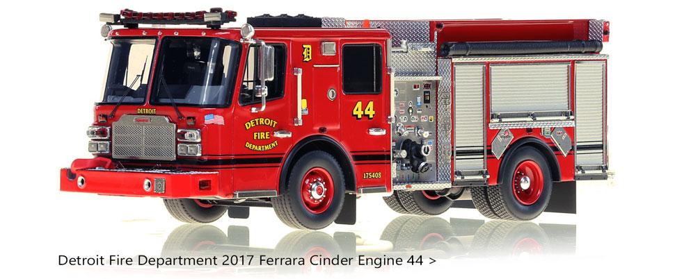 1:50 scale model of Detroit's Ferrara Engine 44