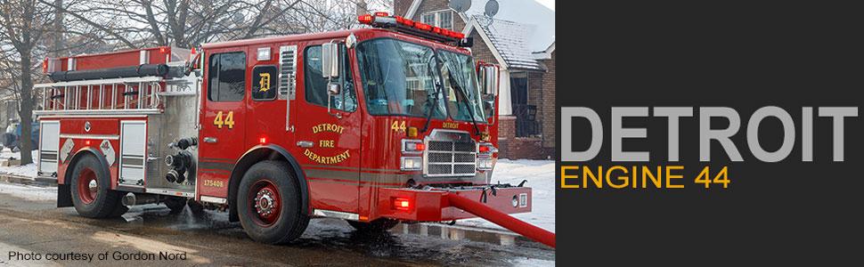 Detroit Fire Department Ferrara Engine 44