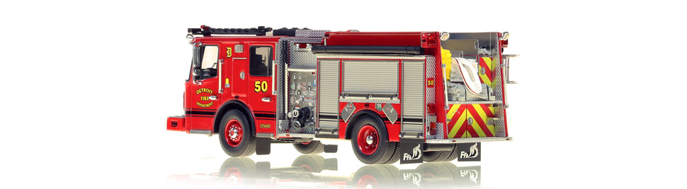 Production of Detroit Engine 50 is limited to 50 units.