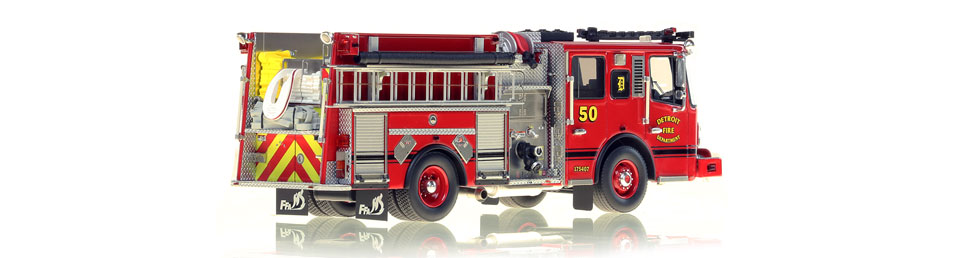 Detroit Engine 50 consists of over 425 hand-crafted parts.