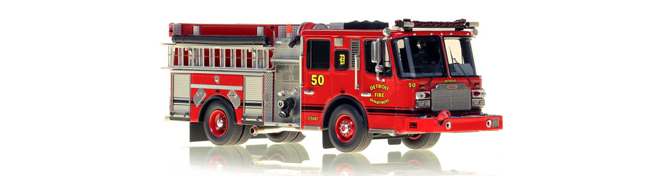 Detroit Engine 50 features hundreds of stainless steel parts.