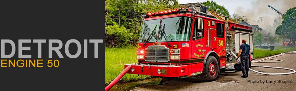Detroit Fire Department Engine 50