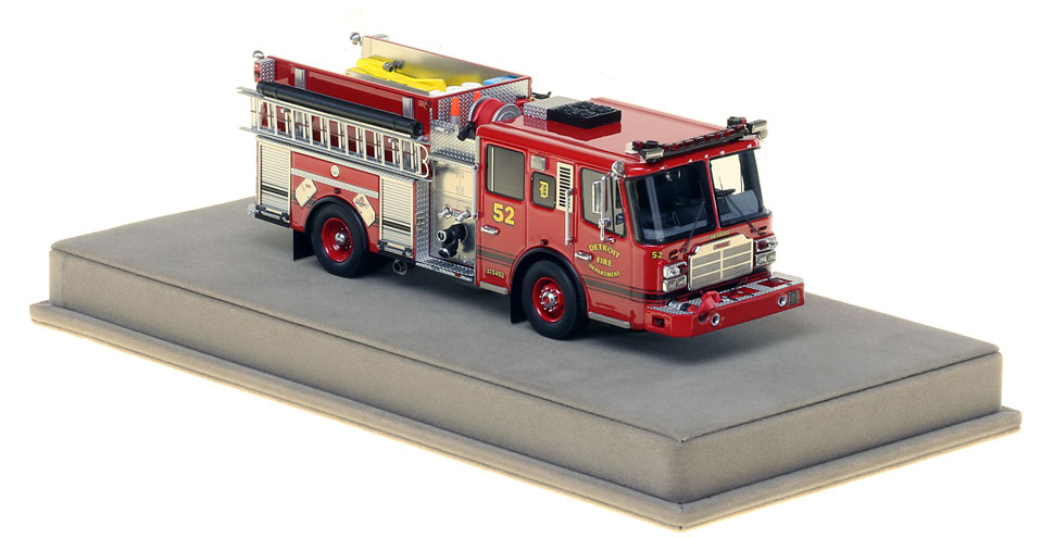Detroit Engine 52 includes a fully custom display case.