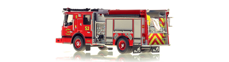Production of Detroit Engine 52 is limited to 50 units.