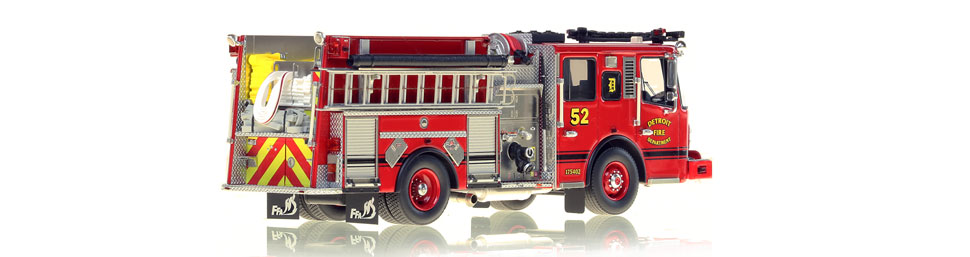 Detroit Engine 52 consists of over 425 hand-crafted parts.