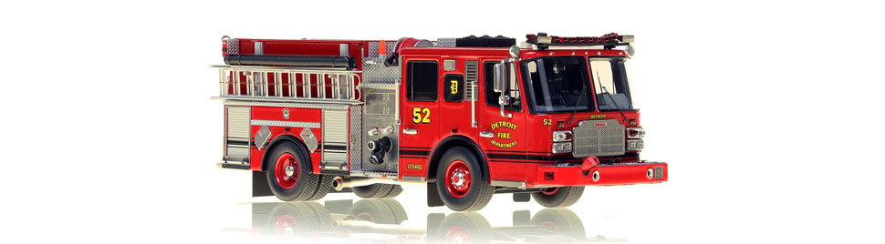 Detroit Engine 52 features hundreds of stainless steel parts.