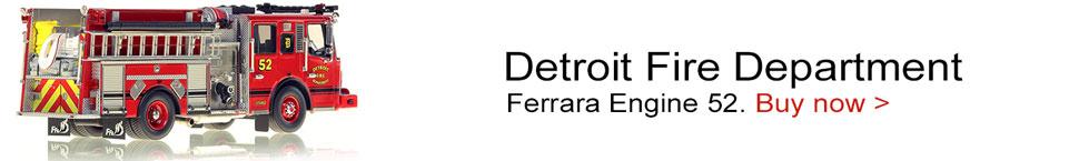 Detroit Ferrara Engine 52 scale model