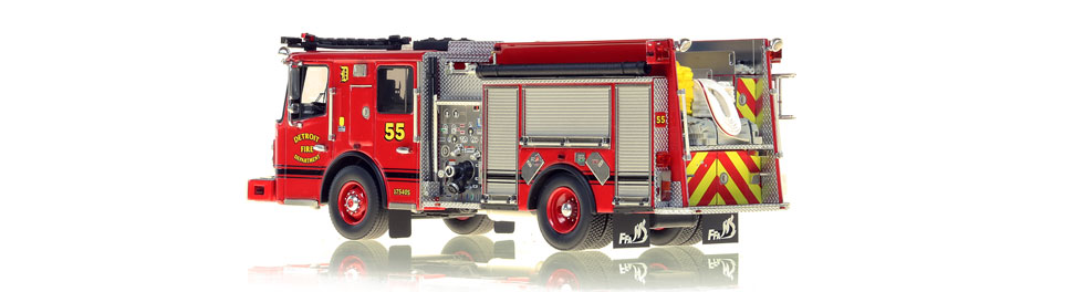 Production of Detroit Engine 55 is limited to 50 units.