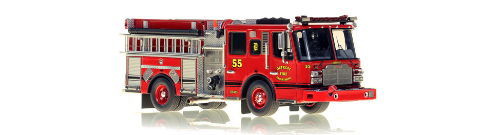 Detroit Engine 55 features hundreds of stainless steel parts.