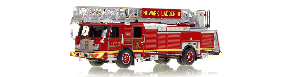 Newark Ladder 11 is hand-crafted from over 600 parts