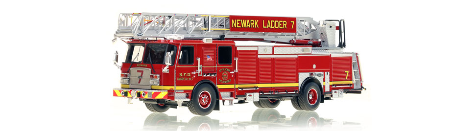 Newark Ladder 7 features authentic details