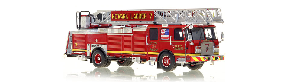 Newark Ladder 7 is hand-crafted from over 600 parts