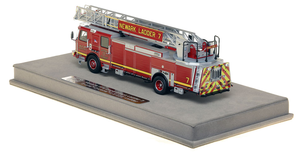 Newark Ladder 7 includes a fully custom display case