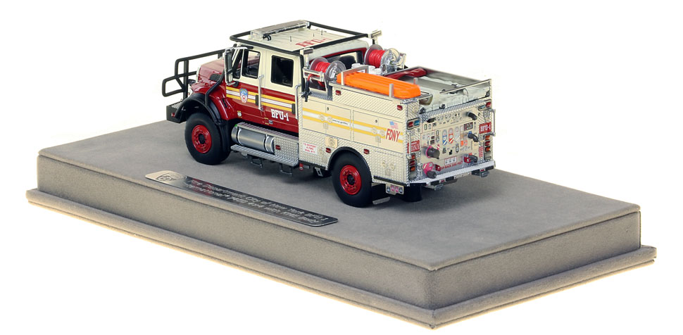 FDNY BFU 1 features authentic details