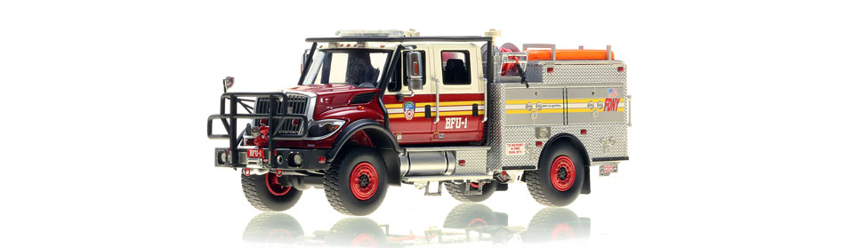 Authentic FDNY BFU 1 scale model from Staten Island