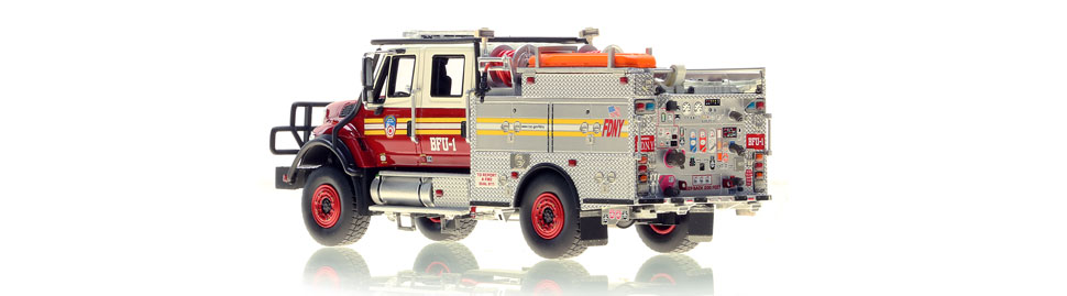 FDNY BFU 1 scale model is limited to 125 units