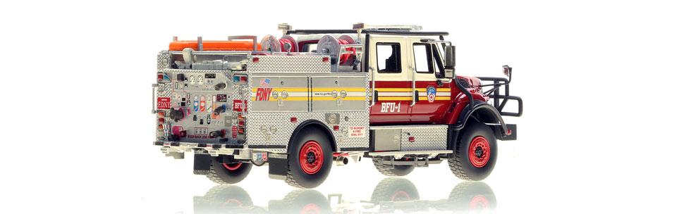 FDNY BFU 1 scale model is hand-crafted