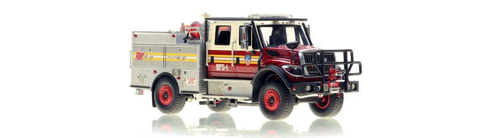 FDNY BFU 1 features razor sharp detail