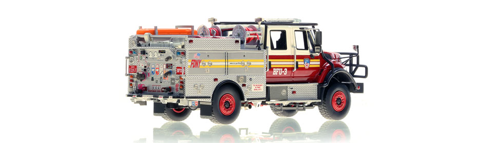 FDNY BFU 3 scale model is limited to 100 units