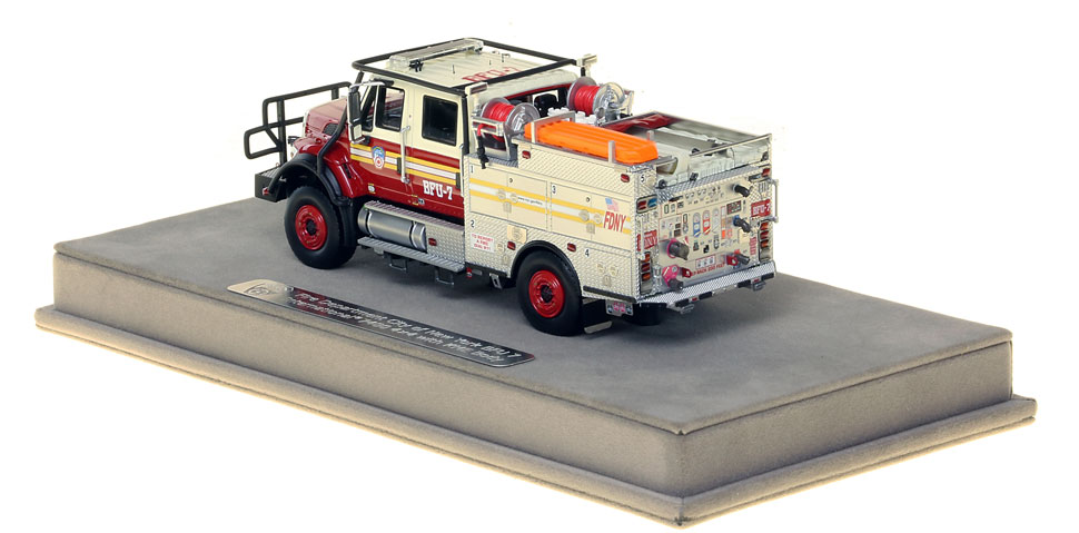FDNY BFU 7 features authentic details