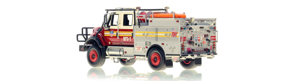FDNY BFU 7 scale model is limited to 100 units