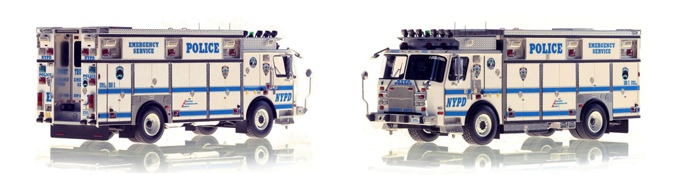 Manhattan's NYPD ESS 1 scale model