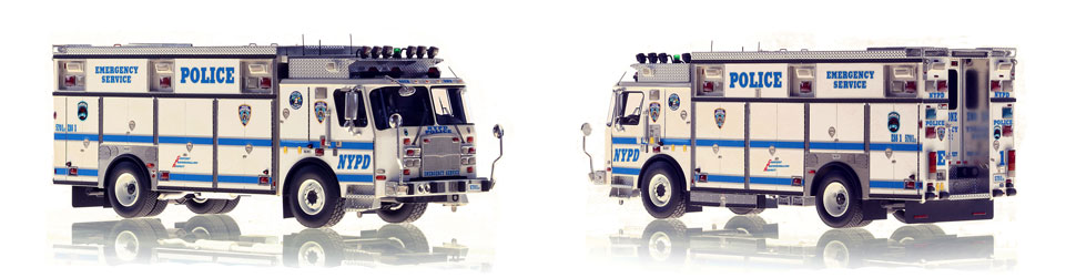 1:50 scale NYPD ESS 1 from Manhattan