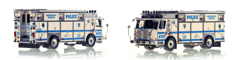 Harlem's NYPD ESS 2 scale model